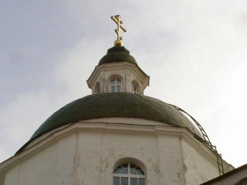 Купол Богоявленского собора