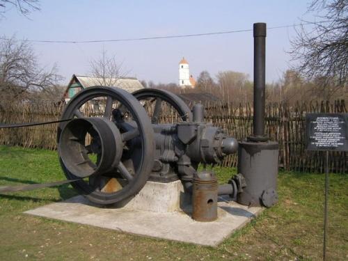 Паровой движок для мельницы