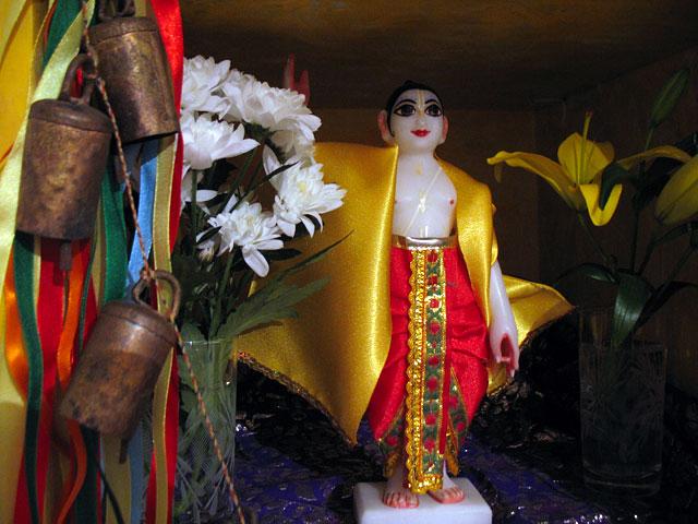 Шри Гауранга, святой из Бенгалии