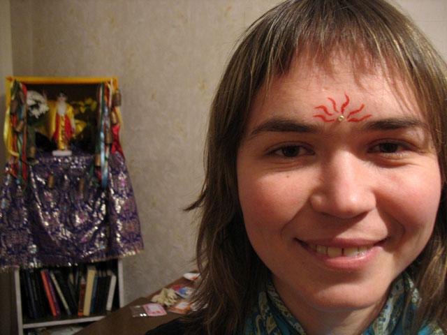 А это пошли лица гостей. Алена побывала в Индии год назад. Хочет обратно, особенно в Пури, где Гауранга прожил 18 лет