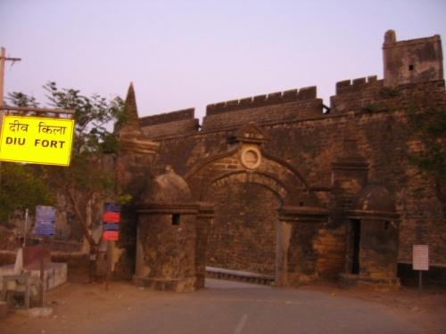 Португальский форт