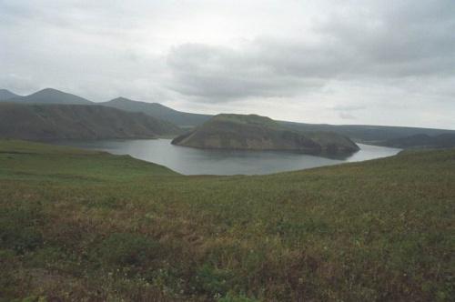 озеро Сопочное по дороге домой