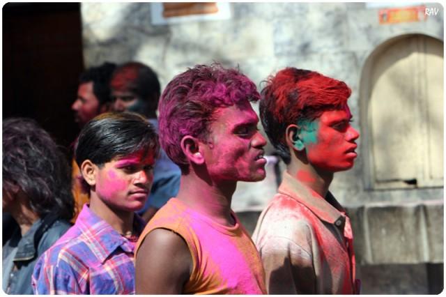Фото Холи. Индия