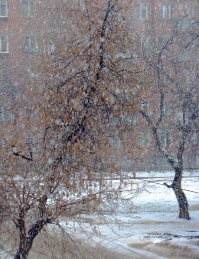 Зима в апреле. Ижевск