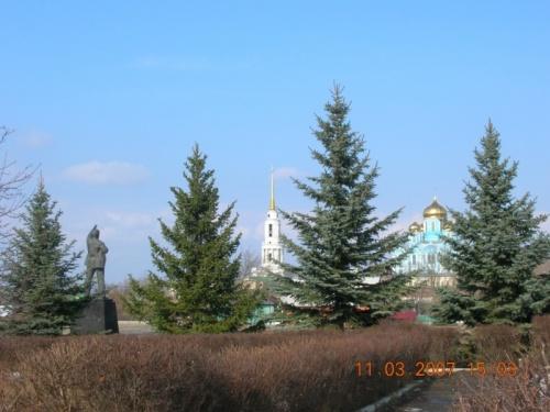 Мой родной Задонск.