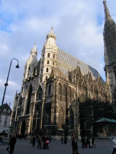 Визитная карточка Вены -- собор Св. Стефана