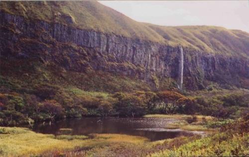 а это уже водопад