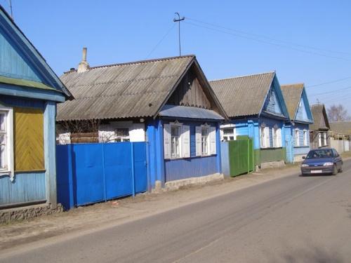 Традиционная местечковая застройка