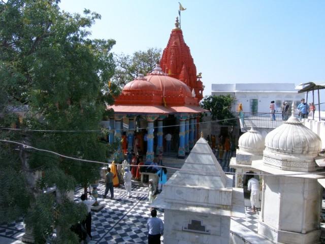 Храм Брахмы. Пушкар.