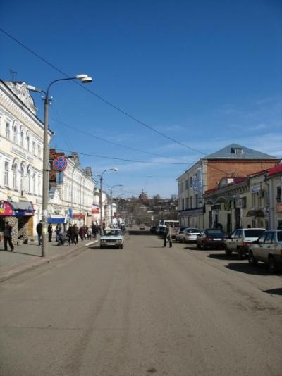 Улица в Сарапуле