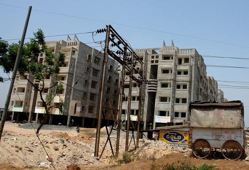 Бхубанешвар строится