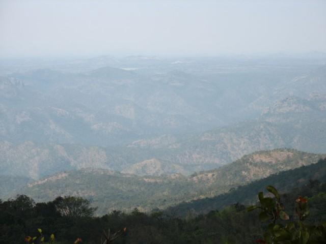 Горы вокруг Тирупати