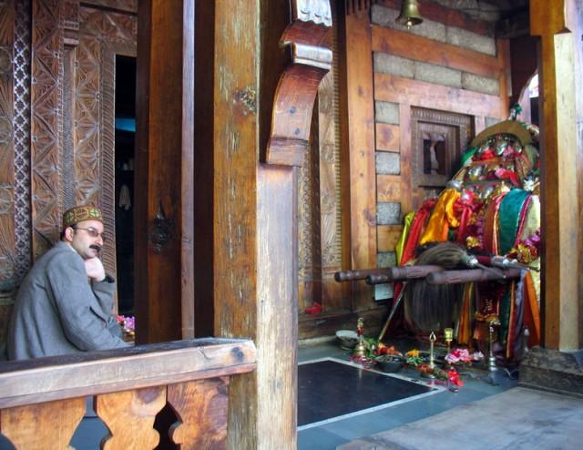 Боги из соседней деревни в гостях у Мудреца Вашишта