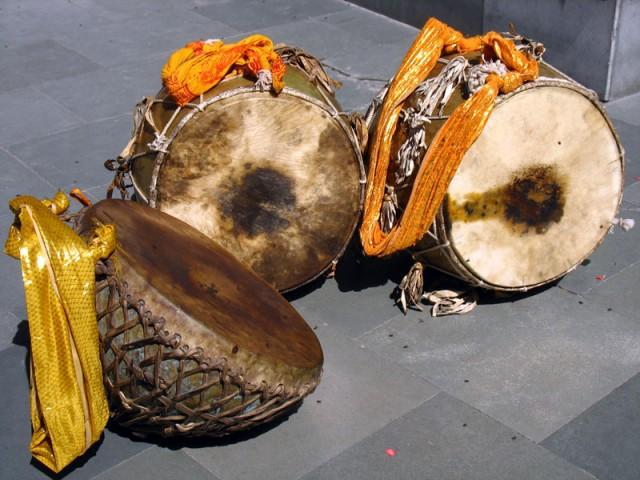 Барабаны из оркестра