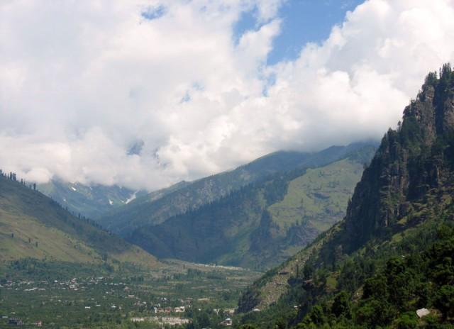 Долина Куллу, вид на север