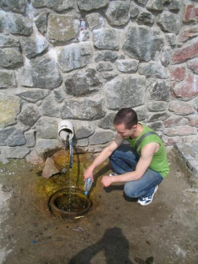Сенпай меняет Бонакву на воду из родника