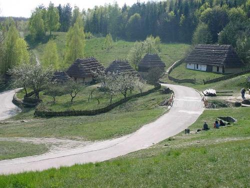 Пирогово. Карпатская деревня