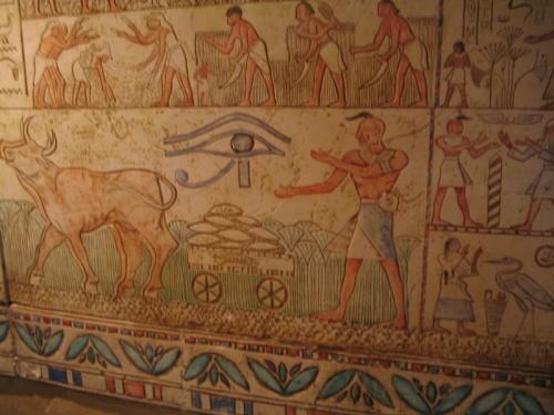 Секретная египетская фреска с древними запорожцами.