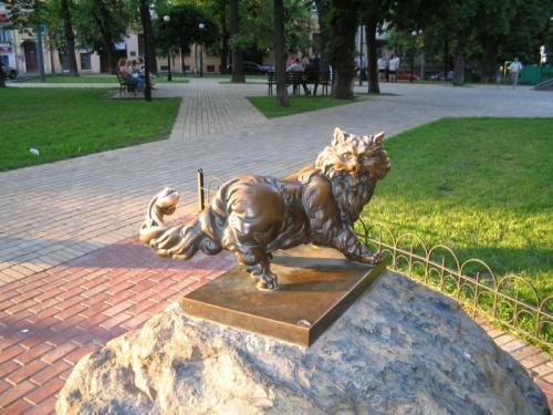 Памятник конкретному коту