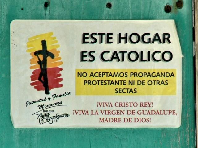 Если у вас некатолическая религия-не делайте здесь своя пропаганда.