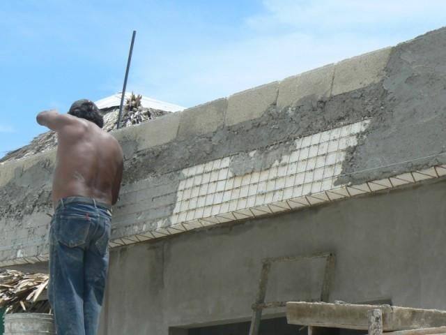 Так строят здесь-хорошо, что никогда нет землетресения.
