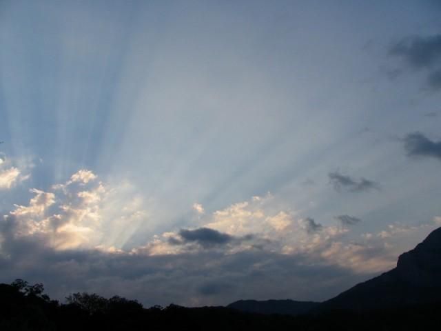 рассвет в Ласпийской бухте
