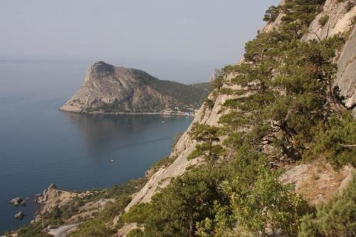 Вид на Новосветскую бухту