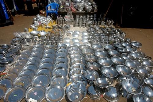 Суперская металлическая посуда