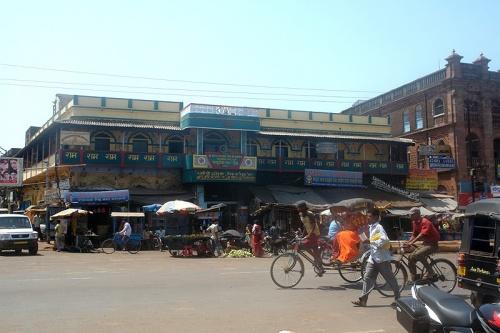 Улица у храма Джаганатха