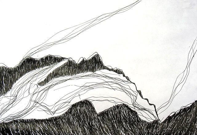 Горы и облака. 10 состояние