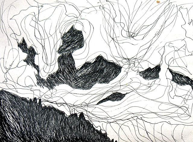Горы и облака. 12 состояние