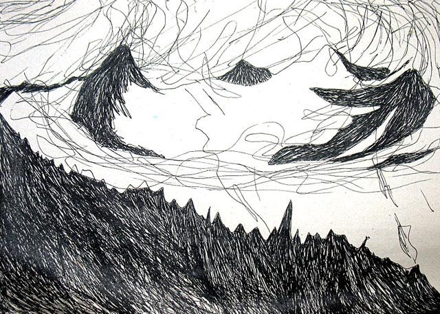 Горы и облака. 3 состояние