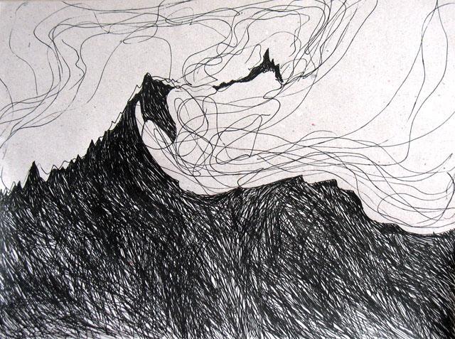 Горы и облака. 6 состояние