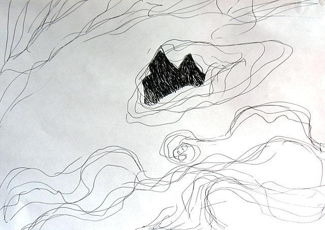 Горы и облака. 8 состояние