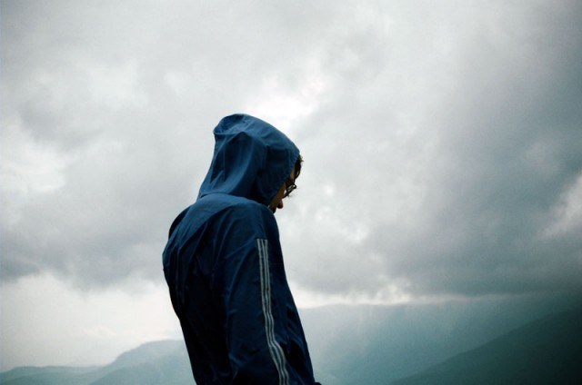 Дождь в горах