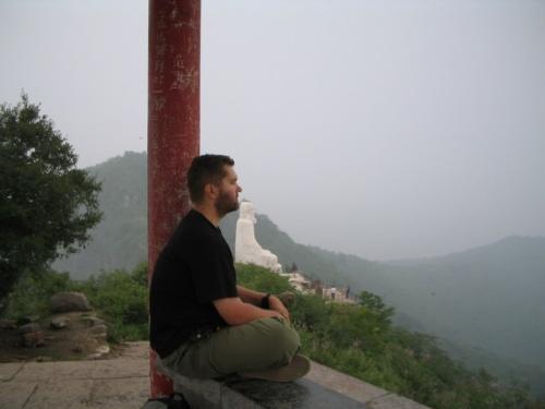 Вот так медитировалось (на горе легендарного Бодхидхармы)