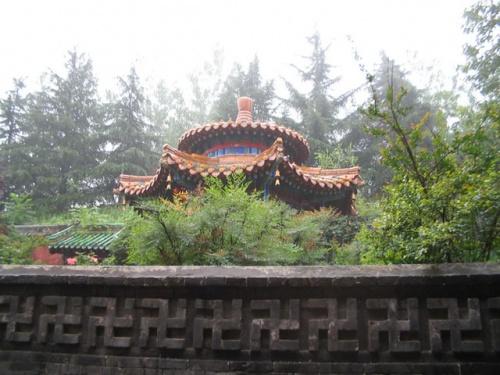 Храм пятисот Будд в Шаолине