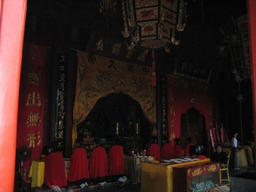 Служба в даосском храме