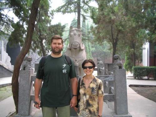Первыйх буддистский храм Китая - Храм Белой Лошади
