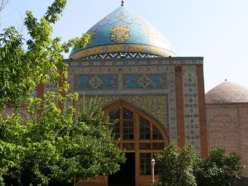 Голубая мечеть теперь иранская