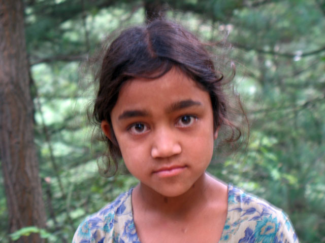 Лесная девочка. Наггар