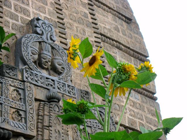 Храм Кришны. Нагар