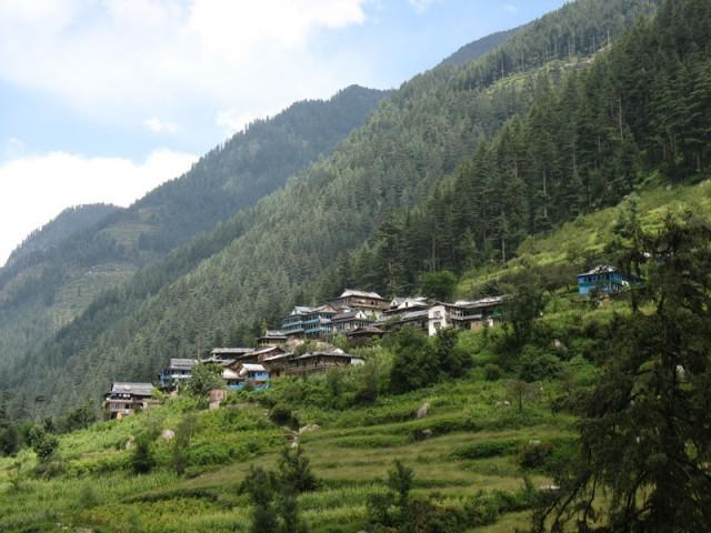 Долина Банджар в Гималаях