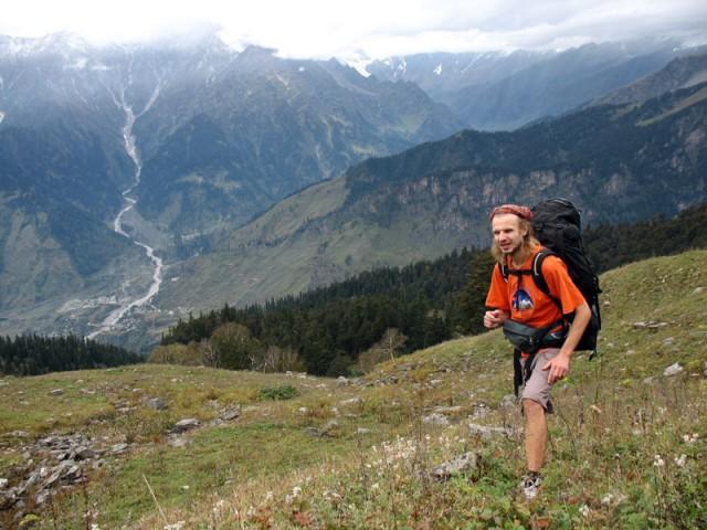Выходим на альпийские луга