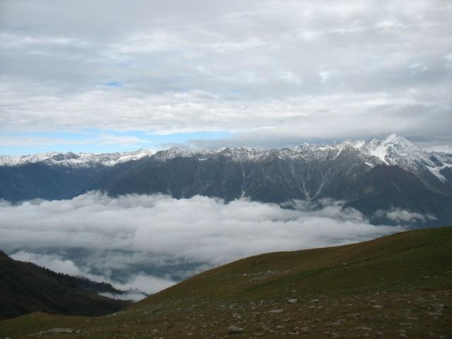 Гималаи утром