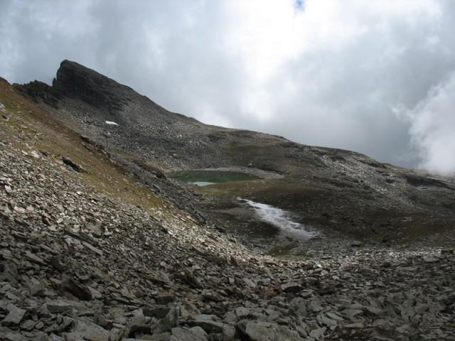 Первый вид на озеро Бхригу