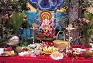 Ganesh puja at home