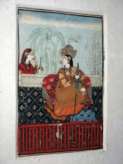 Индийская миниатюра кангрской школы