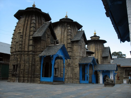 Индуистский храм в Чамбе