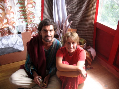 Жером и я в студии